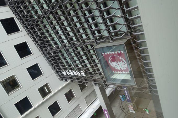 新歌舞伎座 エレベータから